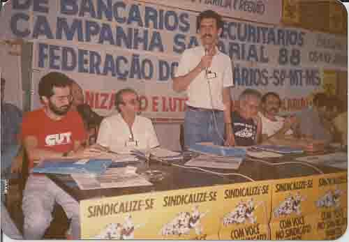 Campanha Salarial 1988 – Encontro Nacional em Brasília – 09 e 10/07/1988