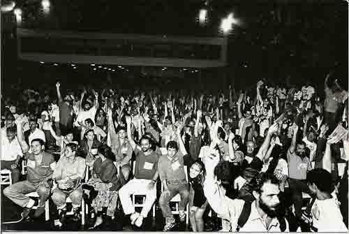 Um pouco de história – legenda: cumpra-se a vontade da maioria convenção que escolheu chapa única. 1991
