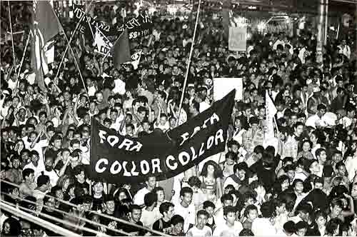 IMPEACHMENT FORA COLLOR agosto/92