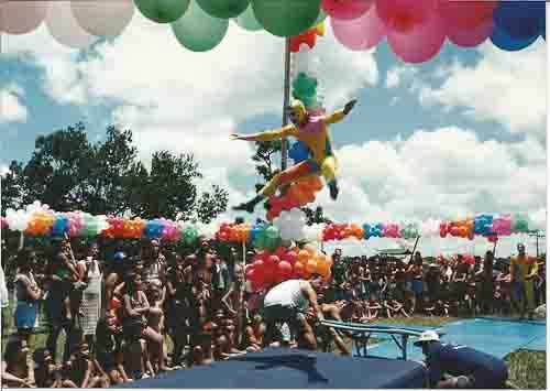 Reabertura Clube de Campo do SEEC/PE Brincando de Circo – festa das Crianças – 11/10/98 Imagem fotos – Ivaldo Bezerra
